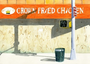 Crown Fried Chicken (Image courtesy of Adrian Coleman)